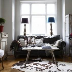 Старая мебель в деревенском стиле