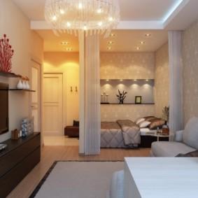 Спальное место в общей комнате