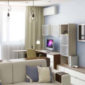 Модульная мебель в интерьере квартиры