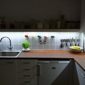 Рейлинг с магнитом для кухонных ножей