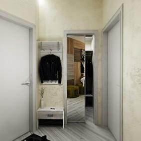 Сдвижная дверь с зеркальным полотном