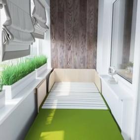 Выращивание зелени в контейнерах на балконе