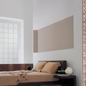 Спальное ложе в современном стиле
