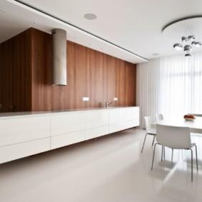 Декор окон кухни в стиле минимализма