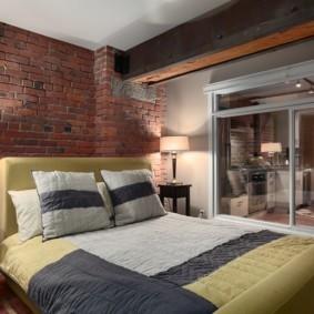 гостиная спальня площадью 20 кв м фото идеи