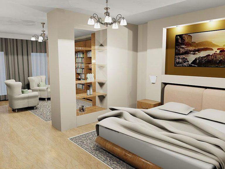 гостиная спальня площадью 20 кв м фото видов