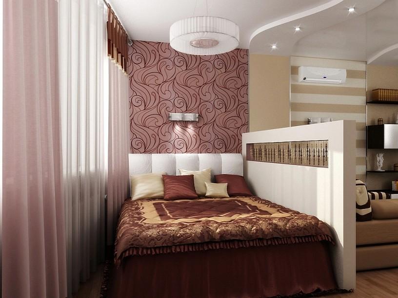 гостиная спальня площадью 20 кв м идеи дизайна