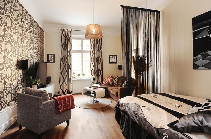 гостиная спальня площадью 20 кв м виды