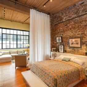 гостиная спальня площадью 20 кв м