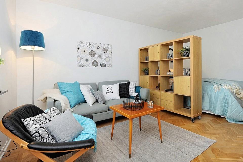 гостиная спальня площадью 20 кв м идеи декор