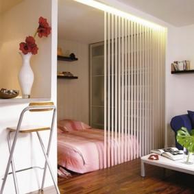 гостиная спальня площадью 20 кв м идеи оформления