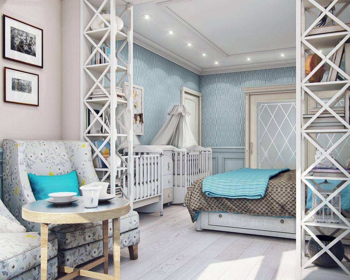гостиная спальня площадью 20 кв м варианты идеи