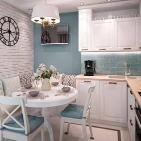 кухня в панельном доме виды