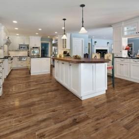 как выбрать пол на кухню