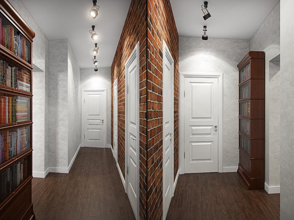 Дизайн узкого коридора в хрущевке