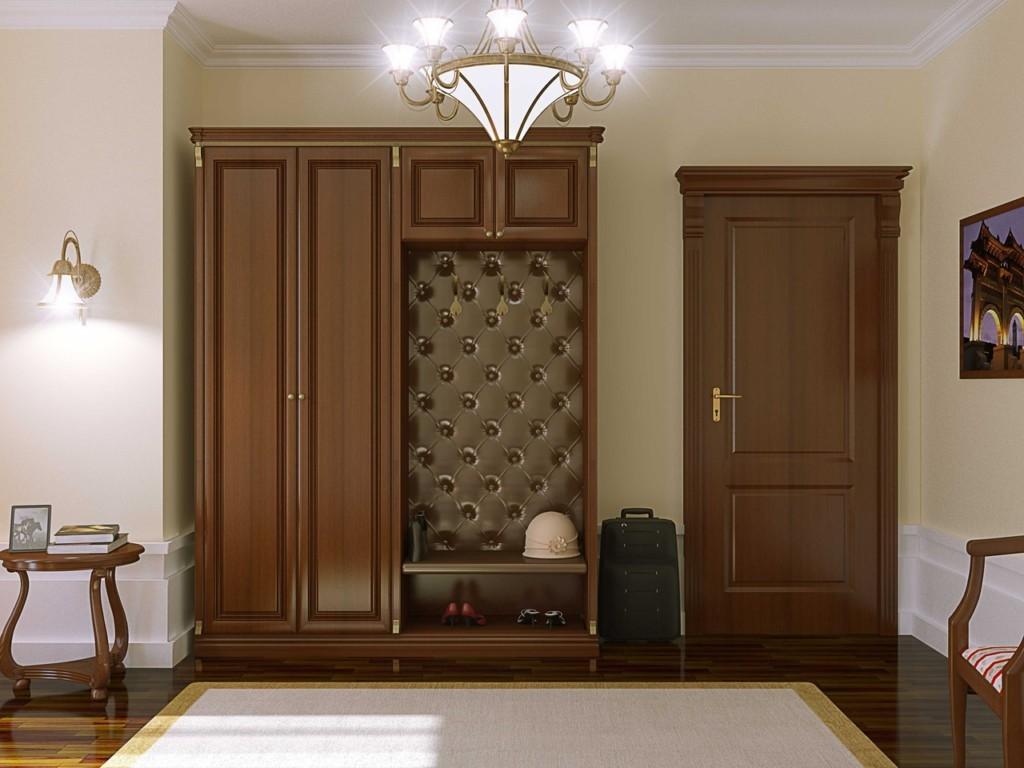 Подбор цвета межкомнатной двери под мебель в коридоре