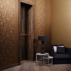 комбинированные обои в коридоре квартиры идеи декор