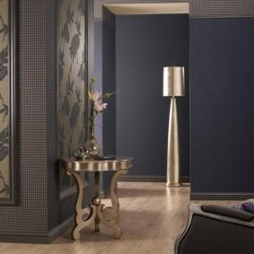 комбинированные обои в коридоре квартиры фото варианты