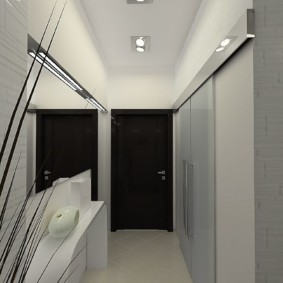 узкий коридор в квартире варианты фото