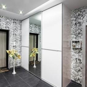 коридор с потолком из гипсокартона идеи интерьера