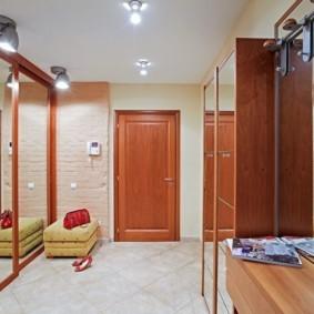 коридор с потолком из гипсокартона фото оформления