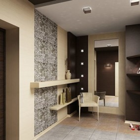 коридор с потолком из гипсокартона идеи оформления
