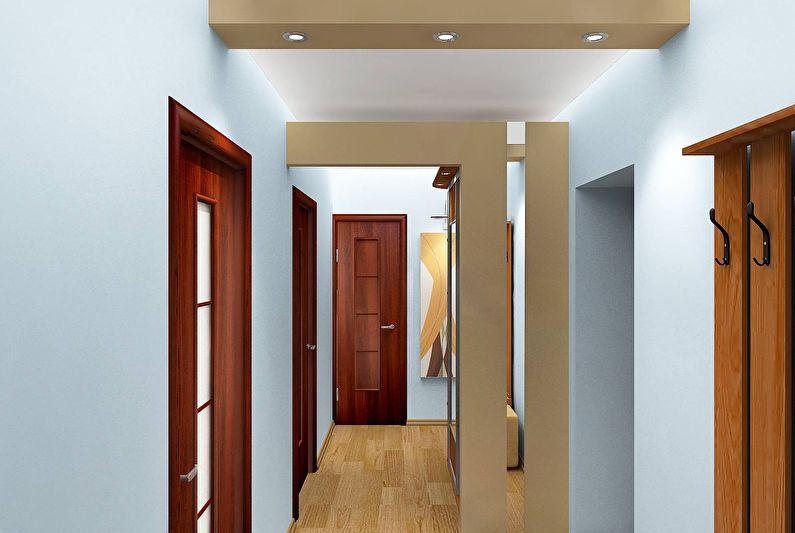 ригель в квартире дизайн фото красивый