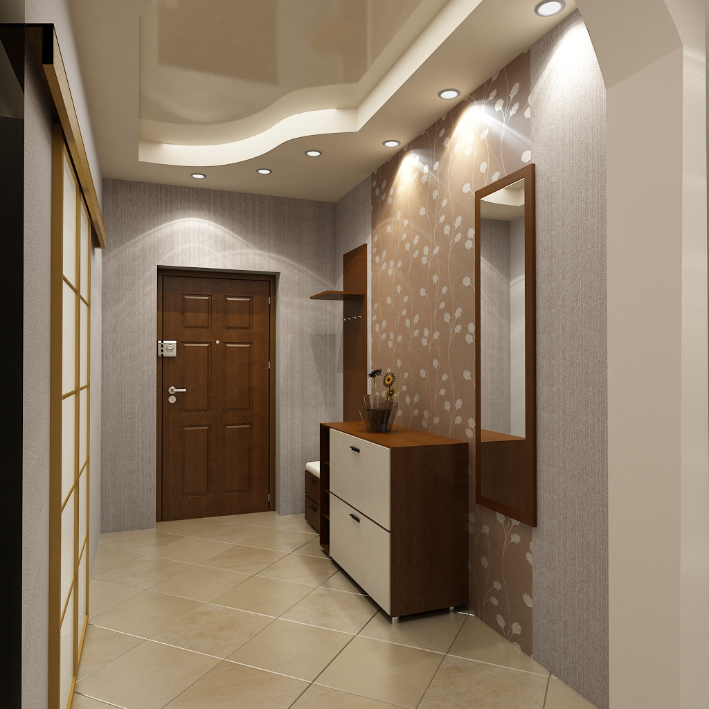 навесные потолки фотографии для коридора тут
