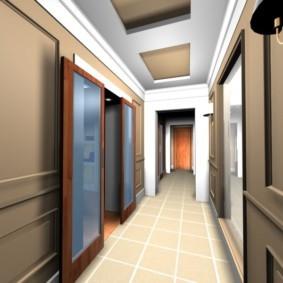 коридор в квартире декор идеи