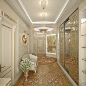 коридор в квартире фото интерьера