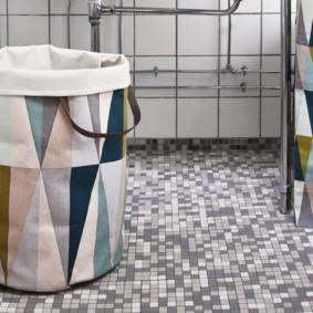 корзина для белья в ванную фото идеи