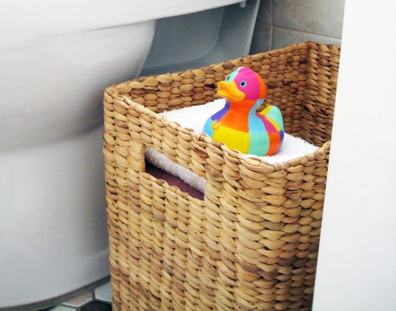 корзина для белья в ванную фото