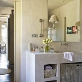 корзина для белья в ванную идеи декор