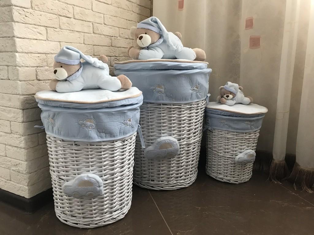 корзина для белья в ванную идеи интерьер