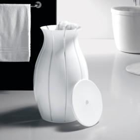 корзина для белья в ванную варианты