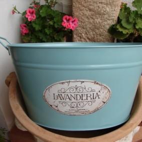 корзина для белья в ванную варианты фото