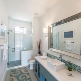 коврики для ванной комнаты декор идеи