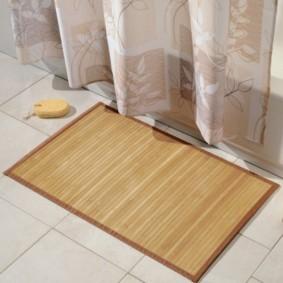 коврики для ванной комнаты дизайн фото