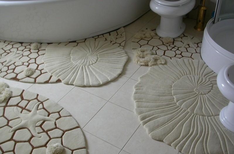 коврики для ванной комнаты фото дизайна