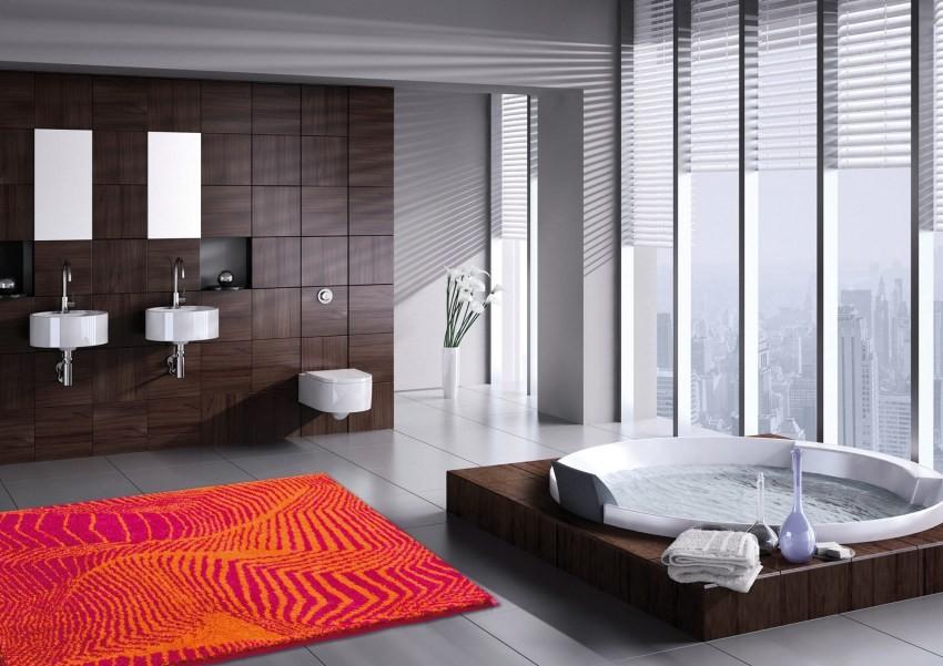 коврики для ванной комнаты фото идеи
