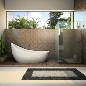 коврики для ванной комнаты идеи дизайн