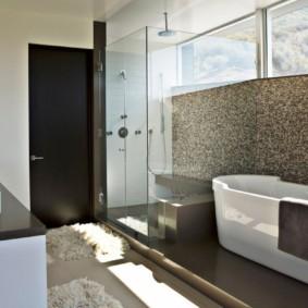 коврики для ванной комнаты декор фото