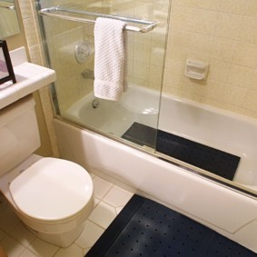 коврики для ванной комнаты фото декор