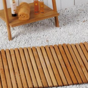 коврики для ванной комнаты фото декора