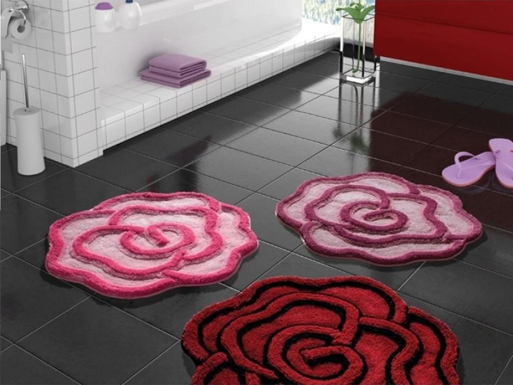 коврики для ванной комнаты фото оформление