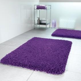 коврики для ванной комнаты идеи декор
