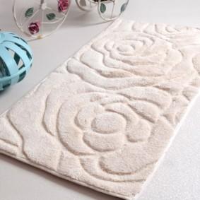 коврики для ванной комнаты идеи декора