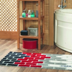 коврики для ванной комнаты идеи фото