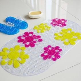 коврики для ванной комнаты идеи обзор