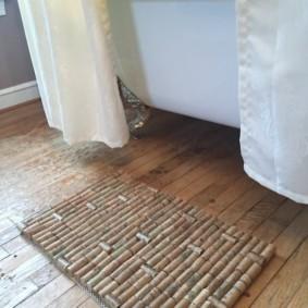 коврики для ванной комнаты идеи обзоры
